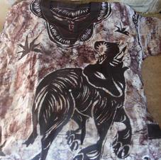 Men's Traditional Nigerian Ankara Shirt