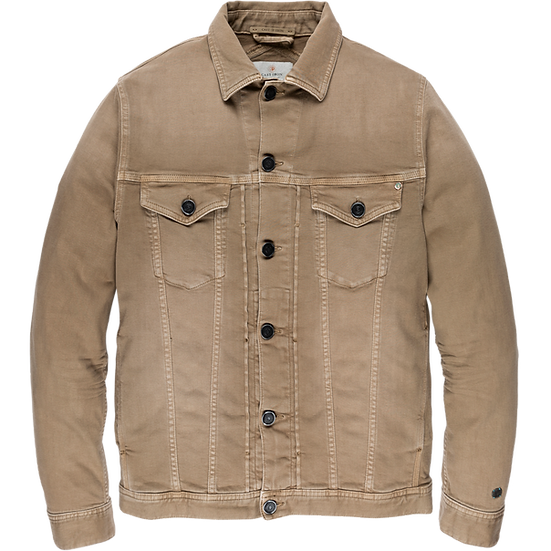 Cast Iron Coloured Denim Jacket