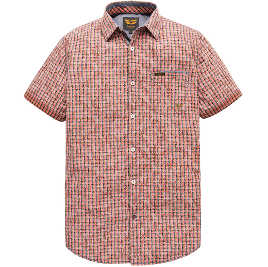PME Legend Short Sleeve Shirt - Printed Check