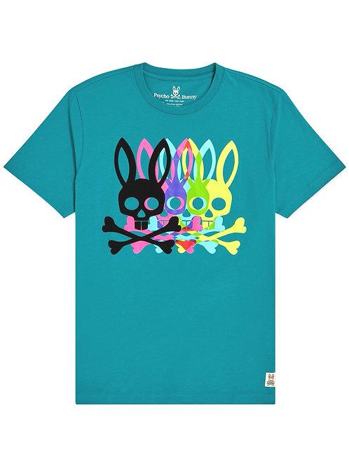 Psycho Bunny Multi Logo T-shirt