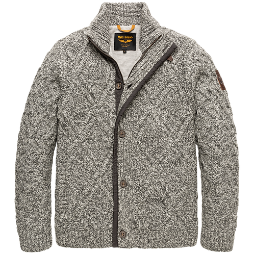Heavy Knitted Yarn Jacket