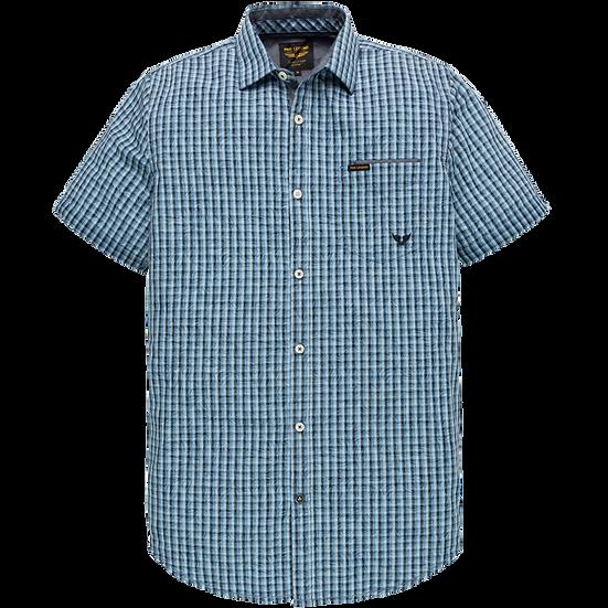 PME Legend Short Sleeve Shirt - Printed Check