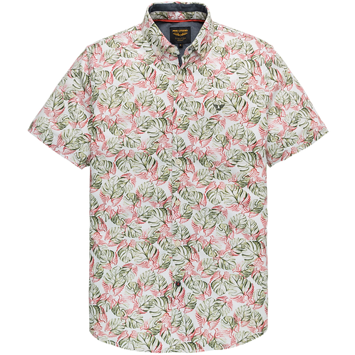 PME Legend Short Sleeve Shirt - Jersey Print