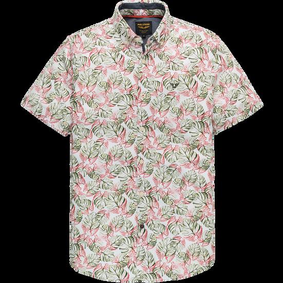 PME Legend Short Sleeve Shirt - Jersey Print