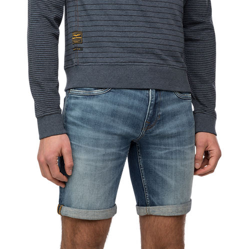Nightflight Denim Stretch Shorts