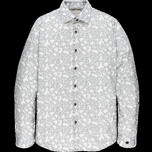 Printed Cotton Stretch Shirt