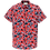 Thumbnail: Cast Iron Short Sleeve Shirt - Shadow Flower