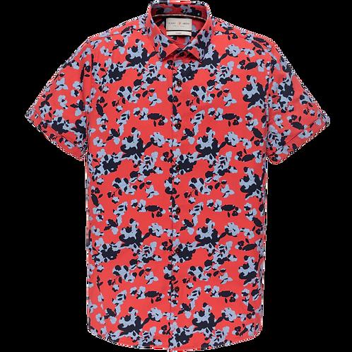Cast Iron Short Sleeve Shirt - Shadow Flower