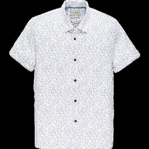Cast Iron Short Sleeve shirt - Animal Print