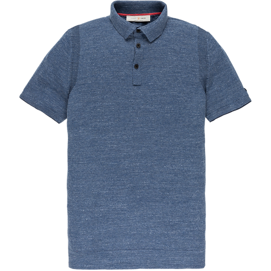 Cast Iron Polo - Knitted cotton