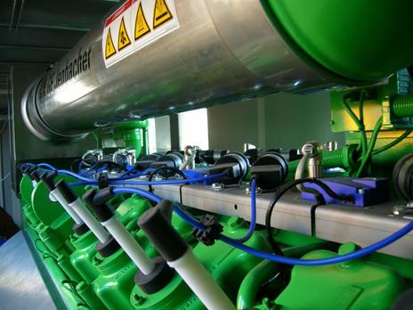 impianto di valorizzazione energetica del biogas