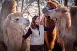Ulli und ihre Kamele