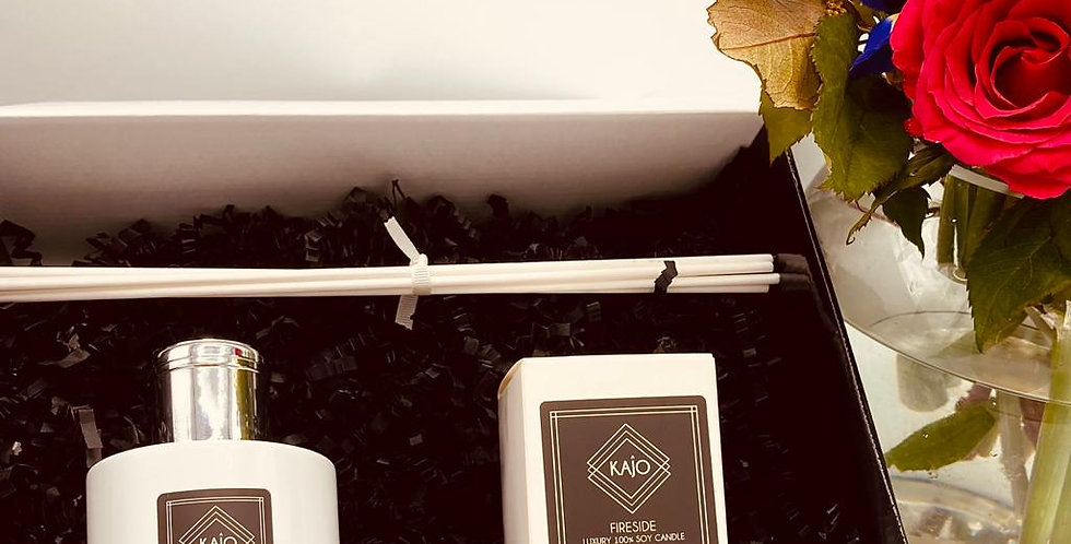Gift Box - 100ml Reed Diffuser & Votive Candle