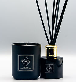 KAJO Fireside Luxury Candle & Reed Diffuser