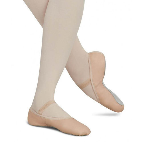 Pink Canvas Ballet Slippers (Adult)