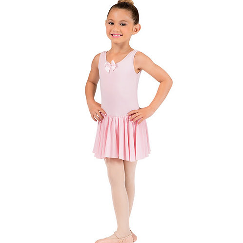 Sleeveless Leotard with Attached Skirt (Child)