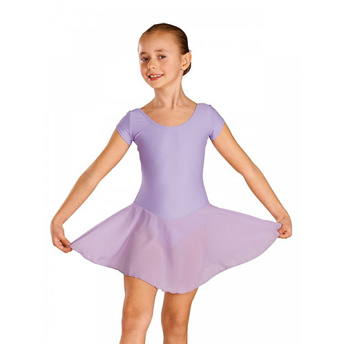Cap Sleeve Leotard with Attached Skirt (Child)