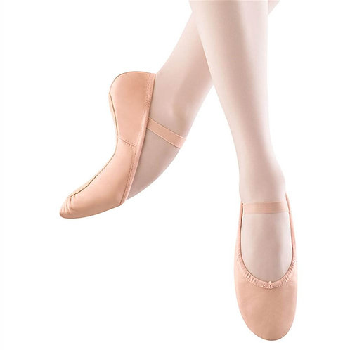 Pink Leather Ballet Slippers (Child)