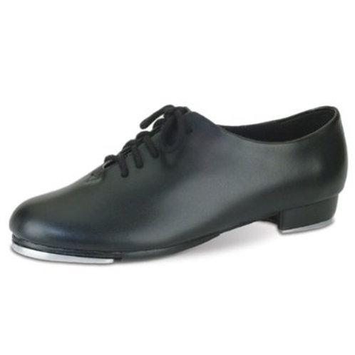 Black Lace-up Tap Shoe (Adult)