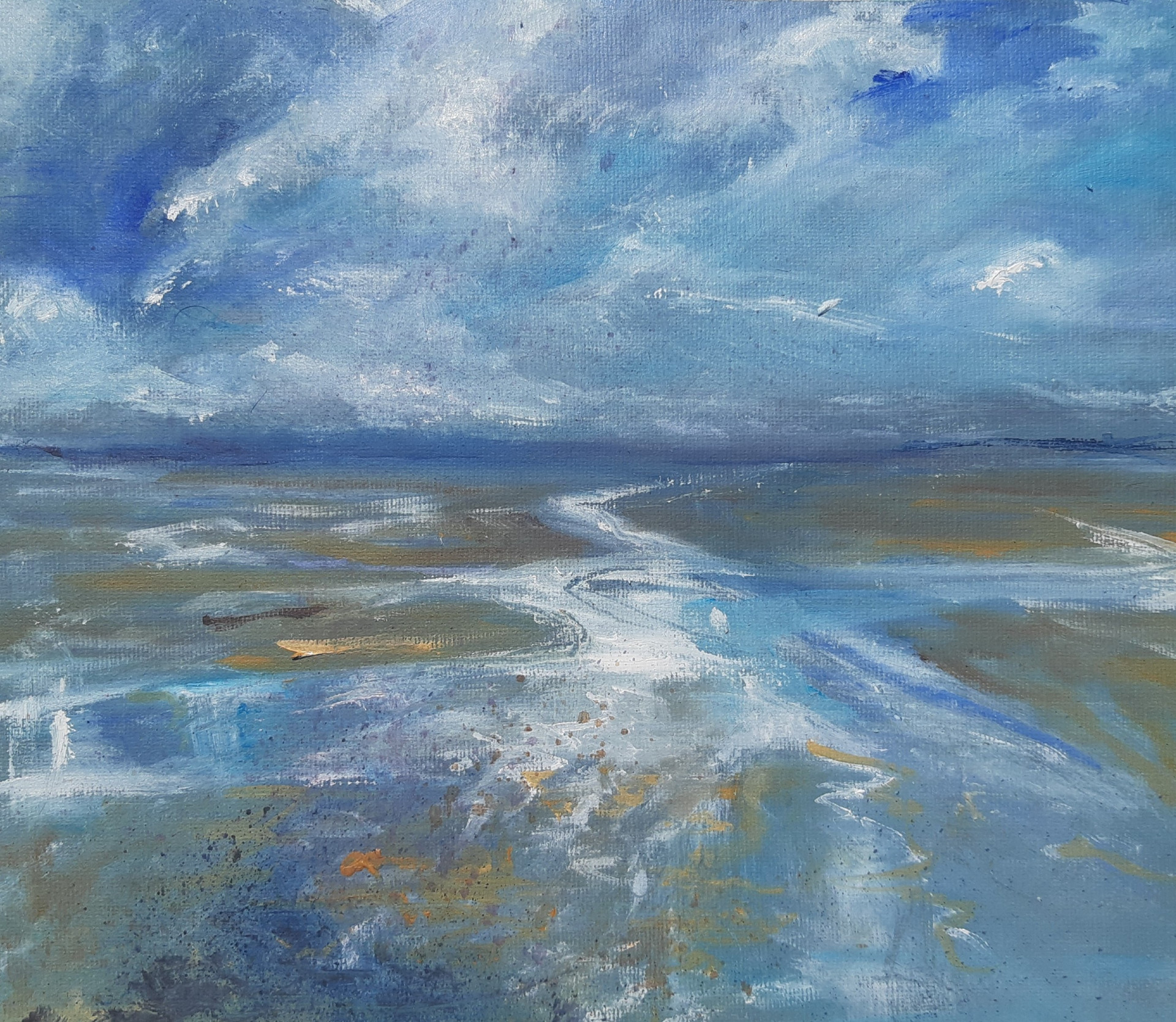 Across the Bay Mumbles SOLD