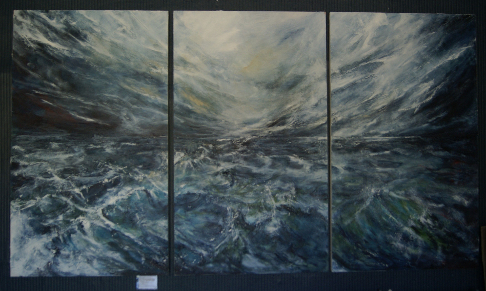 """Triptych """"Calming after the Storm"""""""