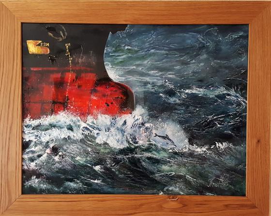 """""""Tanker"""" in frame"""