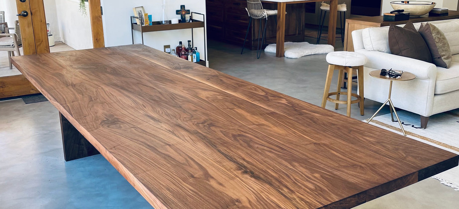 Custom Black Walnut Grand Table