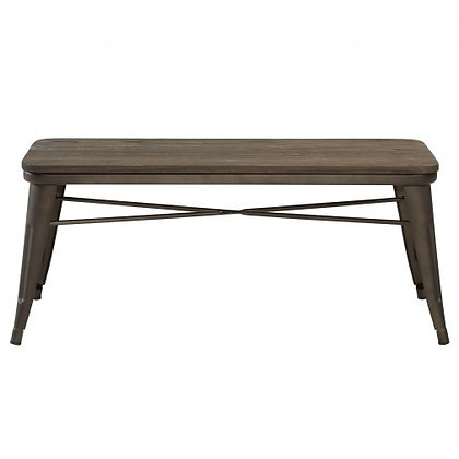 401-197 Backless Double Bench