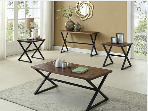 IF-2033 3pc Coffee Table Set