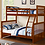 Thumbnail: B-122 Bunk Bed - Single/Double