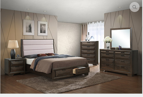 Natalie Bedroom Set - Queen