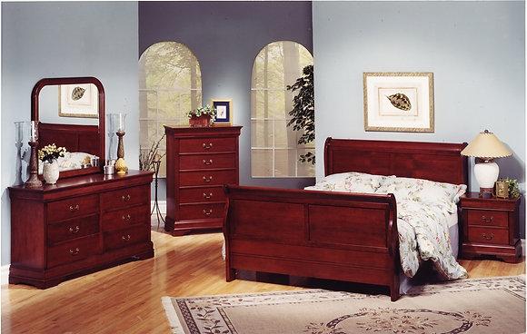 Louis Philip Bedroom Set-Single