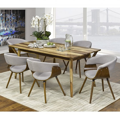 207-129RS/981GY Dining Set - 7Pc