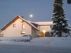 Winter in Hütten