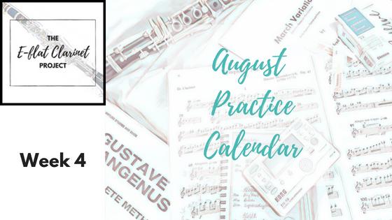 August Practice: Week 4