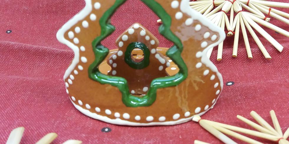 Mécsestartó, gyertyatartó, karácsonyfadísz készítés