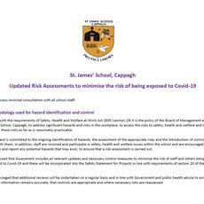 St James' School Risk Assessment