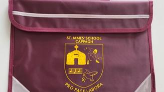 New Junior Infant book bags