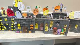 Halloween Art in 3rd Class