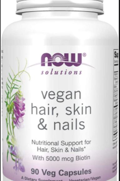 Vegan Hair, Skin, and Nails Veg Caps