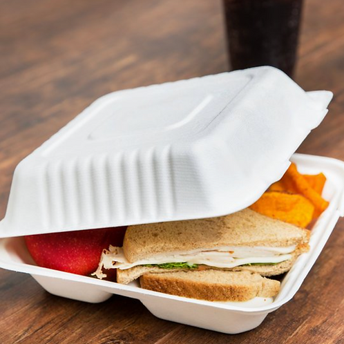 Compostable take out boxes