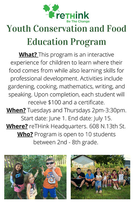 Youth Conservation and Food Education Pr