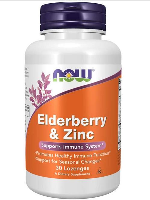 Elderberry and Zinc lozenges