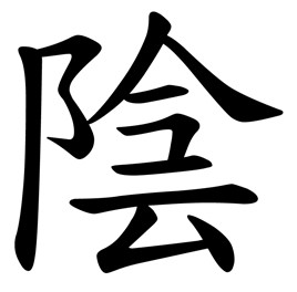 Chinese character for Yin