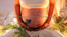 Belly painting - Grossesse Ventre peint