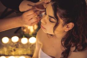Arya Malanchini - photographe professionnelle pour un belly avec Anaïs Aliel maquilleuse professionnelle