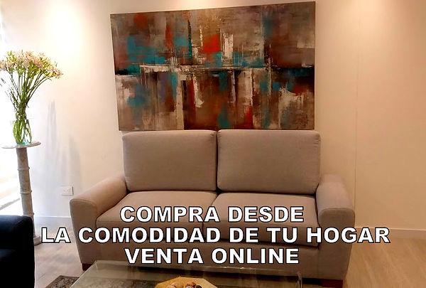 cuadros abstractos en oleo venta online