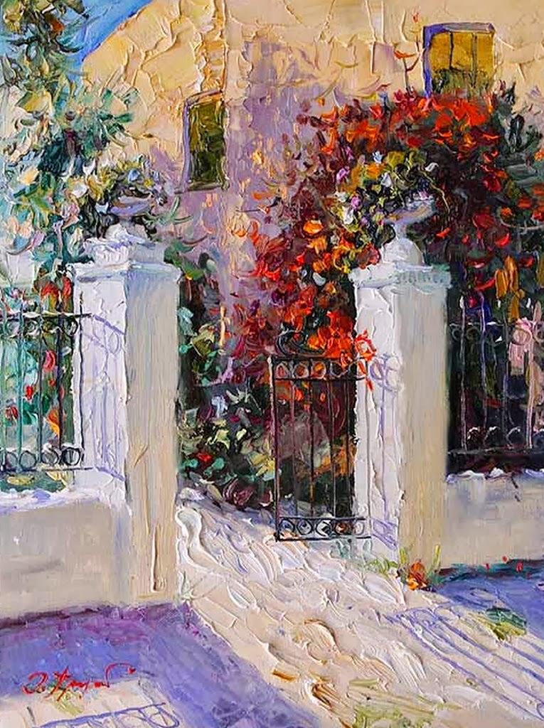 paisajes-flores-pintura-espatula