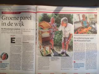 Artikel in de Tubantia: Groene Parel !