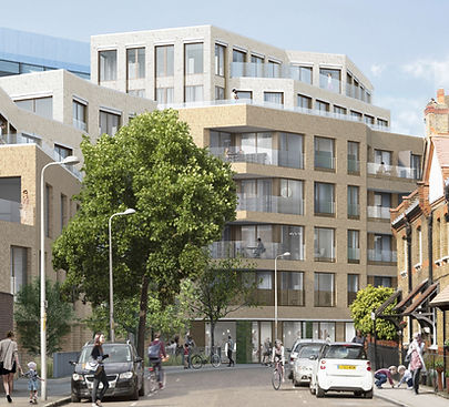 "Otterlo London ""Lucian Grant"" ""mixed used"" development waterloo southbank new homes"